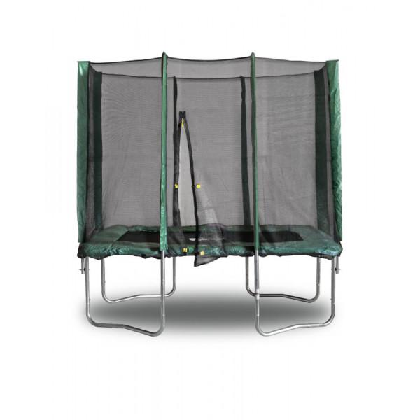 Прямоугольный батут KIDIGO 215 х 150 см. с защитной сеткой (61006)