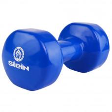 Гантель виниловая Stein 10 кг / шт / синяя  (Бесплатная доставка)