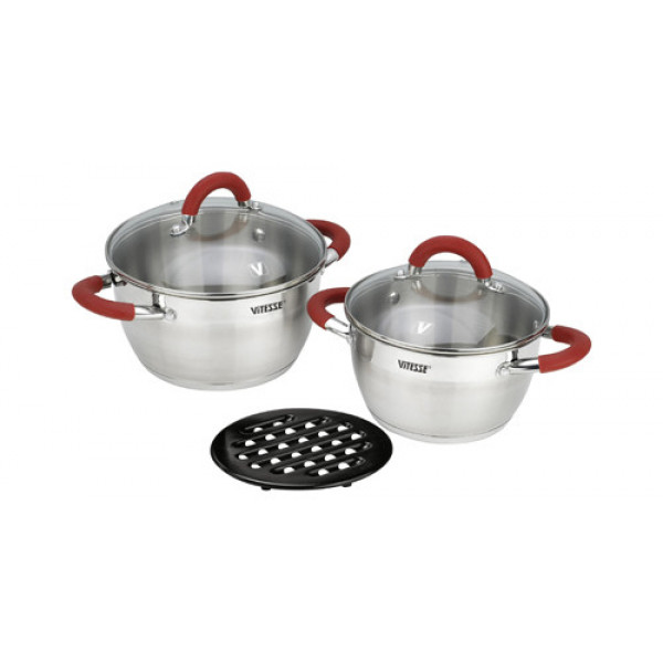 Набор посуды (5 предметов) Vitesse VS-2000
