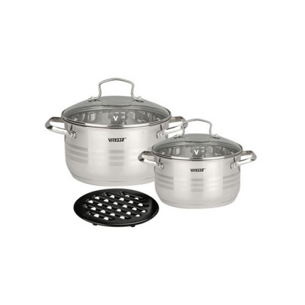 Набор посуды (5 предметов) Vitesse VS-1021N