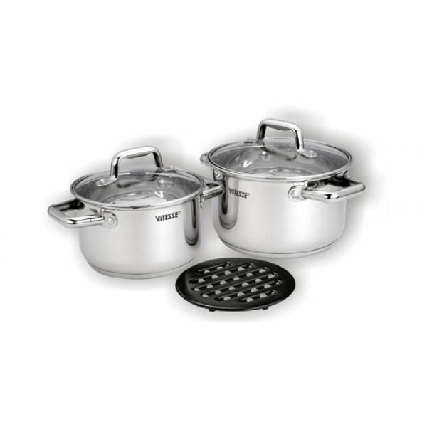 Набор посуды (5 предметов) Vitesse VS-1596