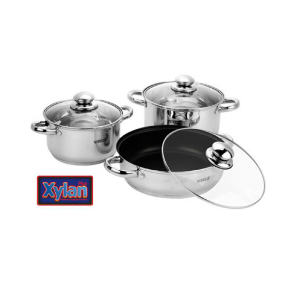 Набор посуды (7 предметов) Vitesse VS-9004