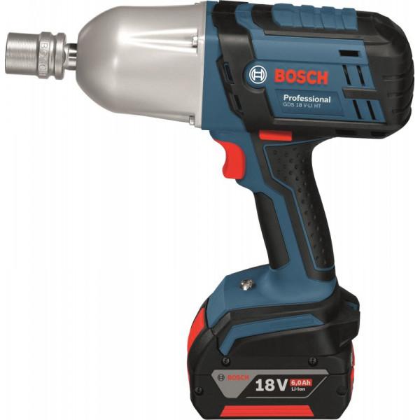 Аккумуляторный ударный гайковёрт Bosch GDS 18 V-LI HT (SOLO - без акку. и зарядки) (06019B1300)