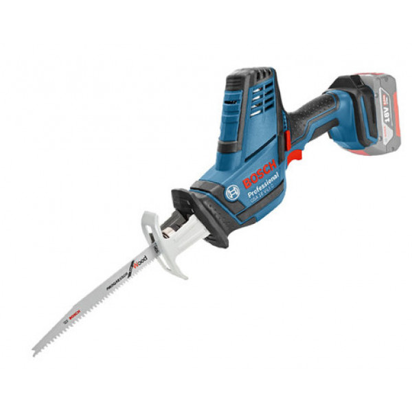 Аккумуляторная сабельная ножовка Bosch Professional GSA 18 V-LI C (06016A5001)