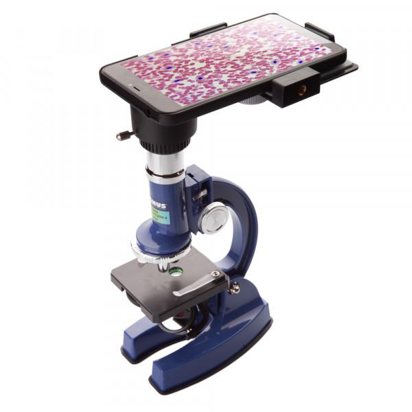 Микроскоп KONUS KONUSTUDY-4 (100x, 450x, 900x) (с адаптером для смартфона)  (Бесплатная доставка)