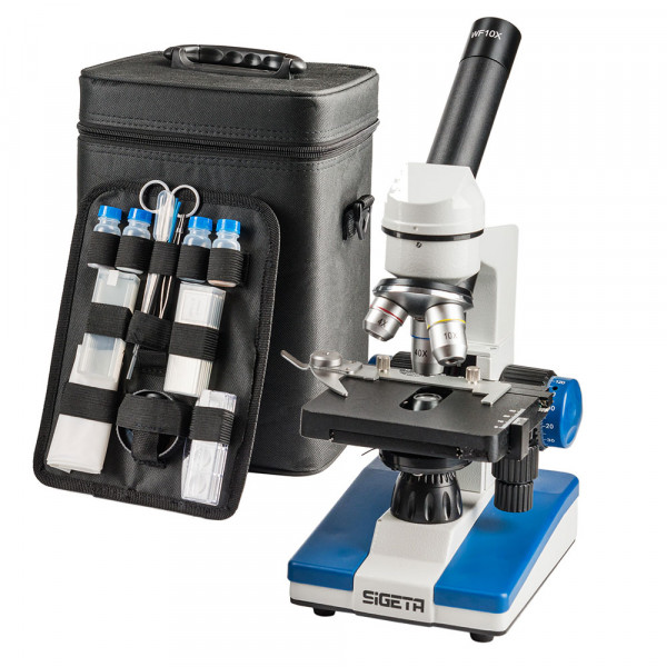 Микроскоп SIGETA UNITY PRO 40x-640x LED Mono  (Бесплатная доставка)