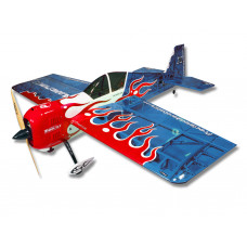 Самолёт р/у Precision Aerobatics Addiction X 1270мм KIT (синий)