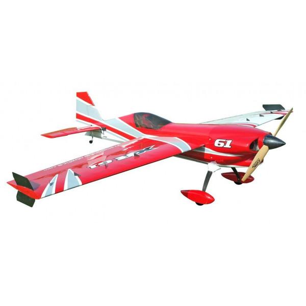 Самолёт р/у Precision Aerobatics XR-61 1550мм KIT (красный)