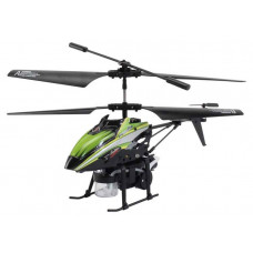 Вертолёт на радиоуправлении 3-к WL Toys V757 BUBBLE мыльные пузыри (зелёный)