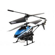 Вертолёт на радиоуправлении 3-к WL Toys V757 BUBBLE мыльные пузыри (синий)