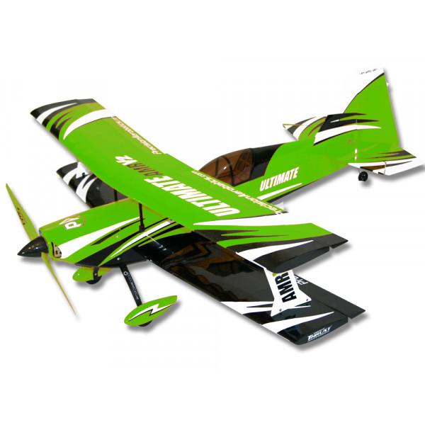 Самолёт р/у Precision Aerobatics Ultimate AMR 1014мм KIT (зеленый)