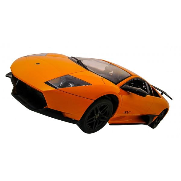 Машинка радиоуправляемая 1:10 Meizhi Lamborghini LP670-4 SV (желтый)  (Бесплатная доставка)