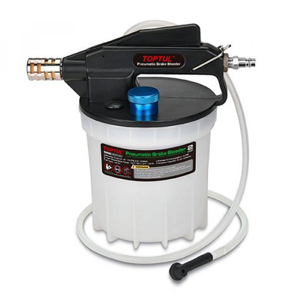 Устройство для замены тормозной жидкости пневматическое TOPTUL JEDF01B0E  (Бесплатная доставка)