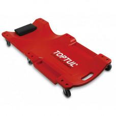 Лежак автослесаря подкатной пластиковый TOPTUL 1020x480x115 мм JCM-0300  (Бесплатная доставка)